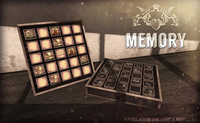 A memória játék kiváló döntés